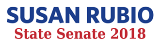 Susan Rubio for State Senate Logo
